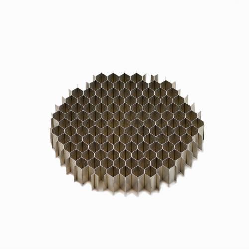 "1/4"" (6mm) Cell Aluminum Honeycomb Air Straightener"