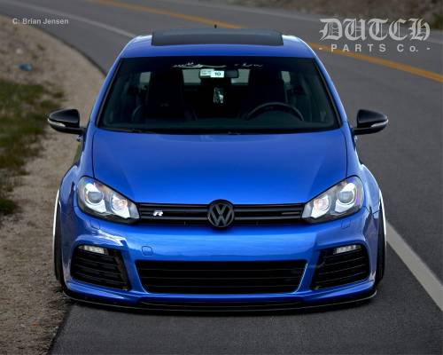 VW MK6 GOLF R FRONT BUMPER SPLITTER