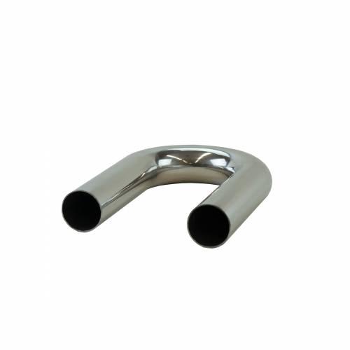 """2.25"""" Mandrel Bent Aluminum 180° Bend"""