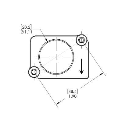 Chevrolet & GMC Duramax 6.0L 6.6L LB7 LLY LBZ Mass Air Flow Sensor Flange