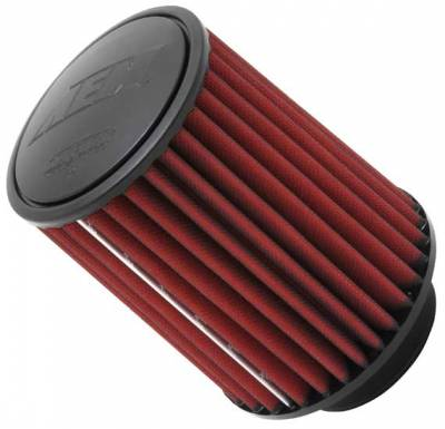 "Air Intake Components - AEM Dryflow Air Filters - AEM Induction Systems - 4.0"" AEM 21-2057DK DryFlow Air Filter"