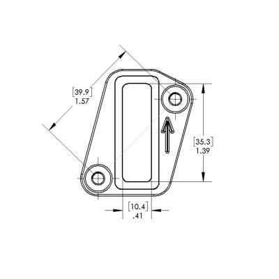 Volkswagen & Audi FSI Mass Air Flow Sensor Flange