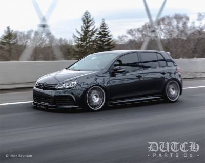 VW MK6 GOLF R SIDE SKIRT SPLITTERS