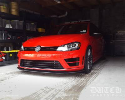 VW MK7 GOLF R FRONT BUMPER SPLITTER
