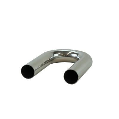 """2"""" Mandrel Bent Aluminum 180° Bend"""