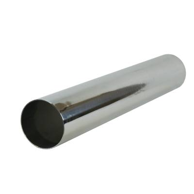 """3.5"""" x 24"""" Polished Aluminum Pipe Section"""