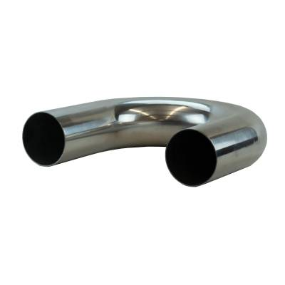 """4"""" Mandrel Bent Aluminum 180° Bend"""